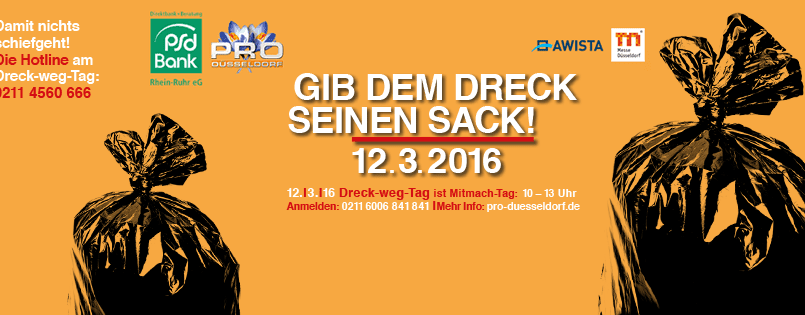 Dreck-weg-Tag 2016: 6800 Bürger nahmen teil