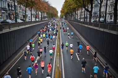 """Stadtwerke Düsseldorf Halbmarathon auf der Kö"""""""