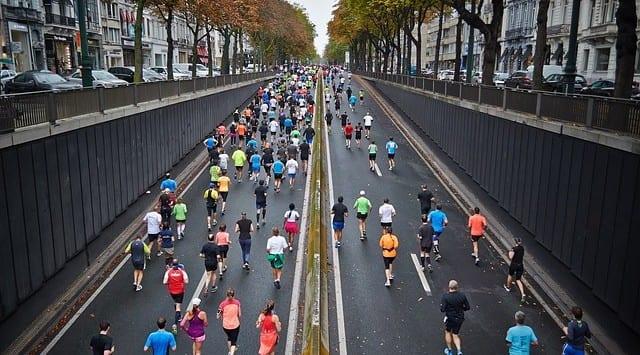 Halbmarathon auf der Kö