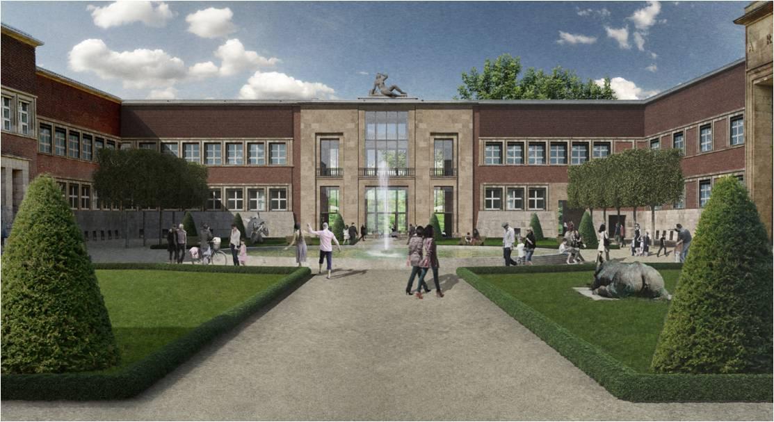 Rund 39,9 Millionen Euro für den neuen Kunstpalast