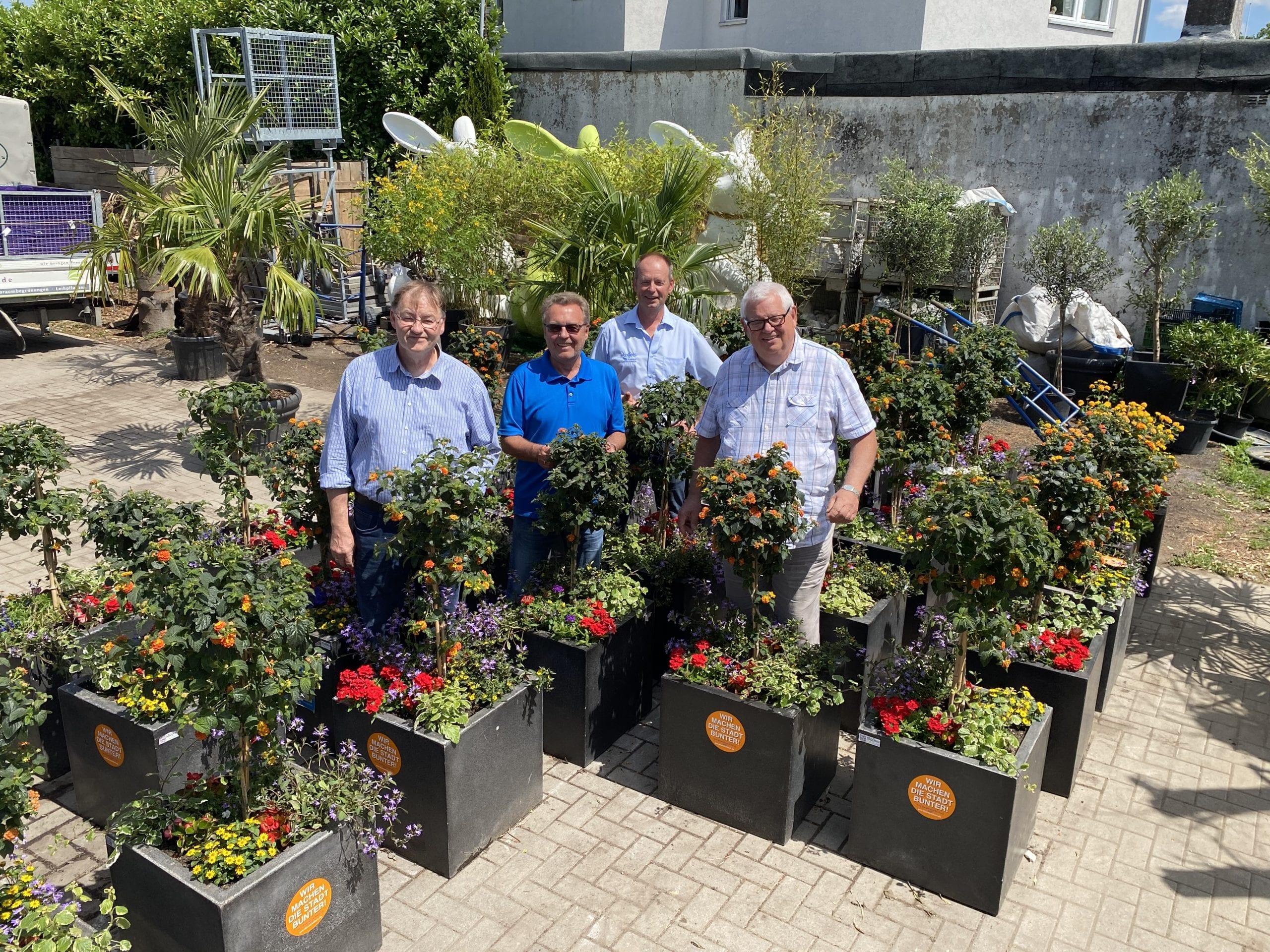 400 Blumenoasen für Düsseldorfer Stadtteile