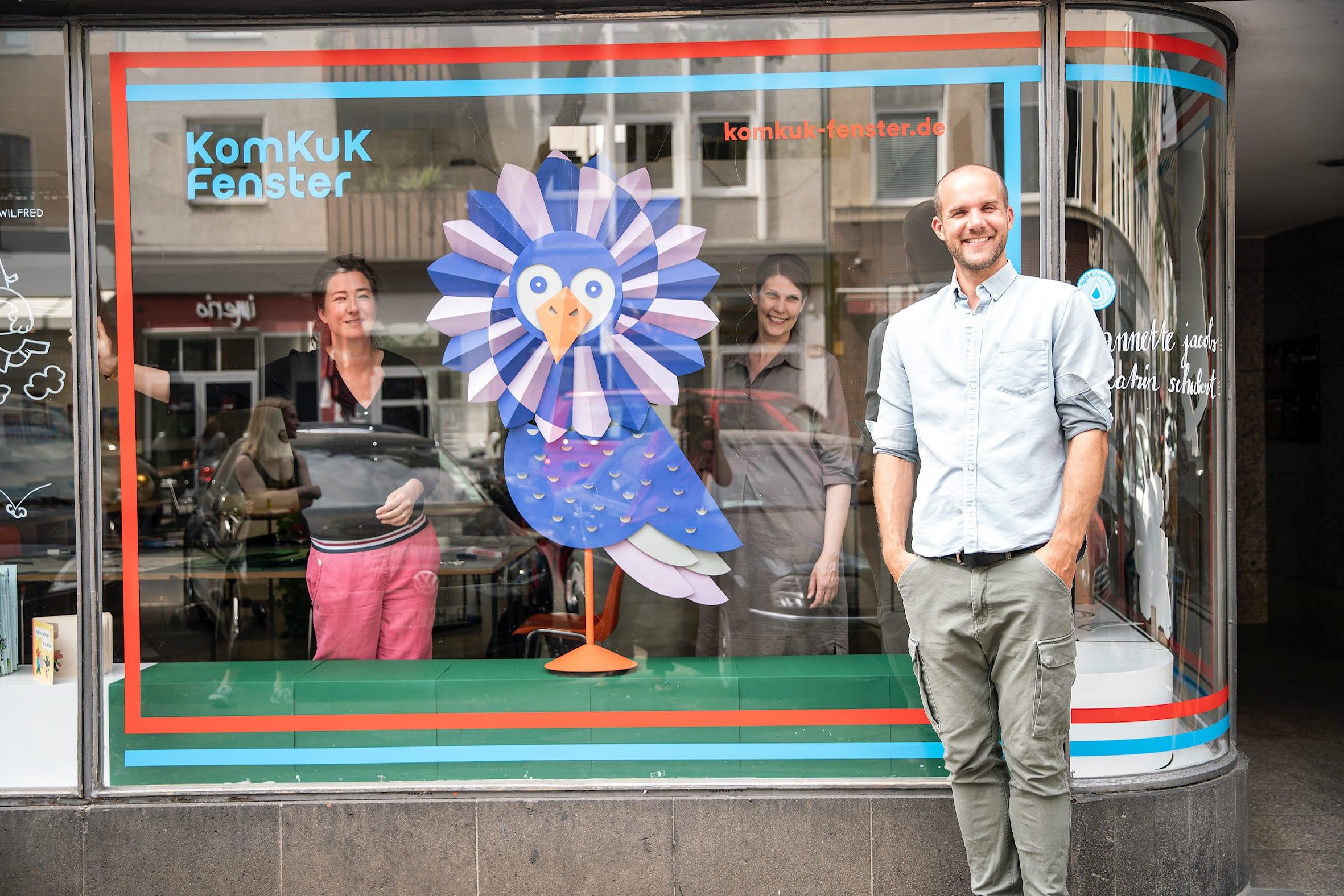 Ein Fensterplatz für die Düsseldorfer Kultur- und Kreativwirtschaft