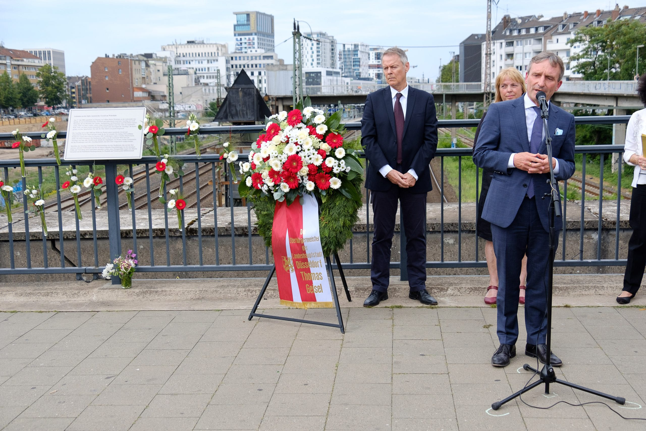 Gedenken an den Wehrhahn-Anschlag vor 20 Jahren