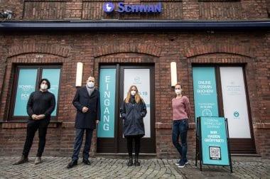 Erstes Corona Schnelltest Zentrum in Düsseldorf!